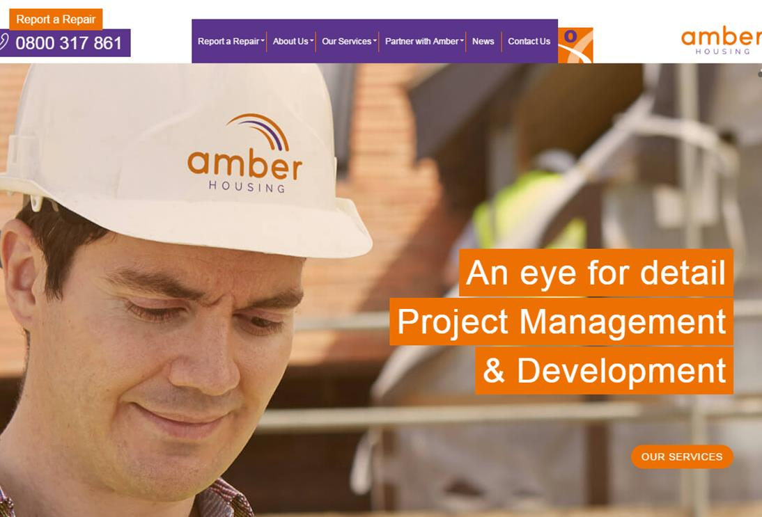 Launch of new website is a milestone for Amber Housing!